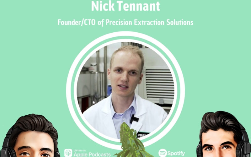 Professionally Cannabis Podcast - Nick Tennant - Precision Extraction Solutions