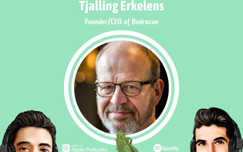 Professionally Cannabis Podcast - Tjalling Erkelens - Bedrocan