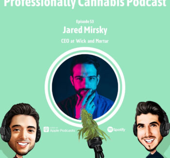 Professionally Cannabis Podcast - Jared Mirsky - Wick & Mortar