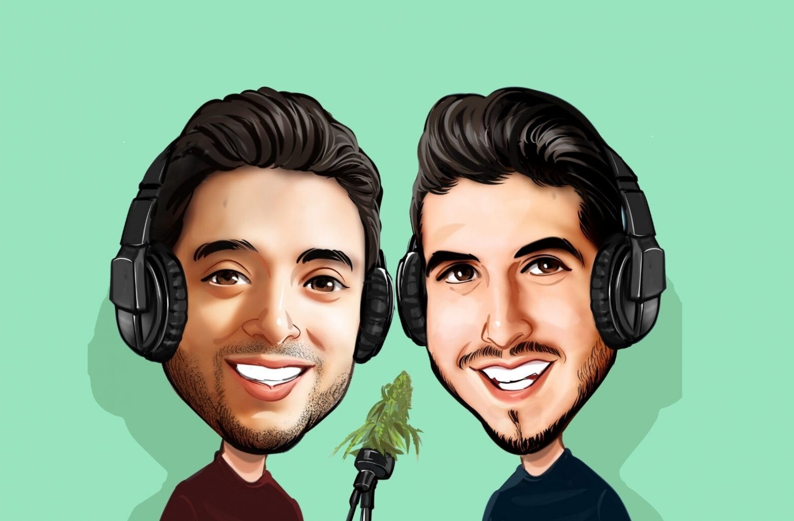 Professionally Cannabis Podcast - Hosts Image